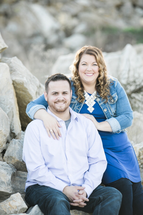 Brandon Ferguson and Alyson Passmore